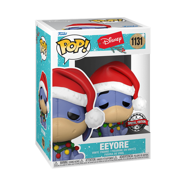 Eeyore With Lights (Tbc): Holiday 2021: (hmv Exclusive) Pop Vinyl - 2