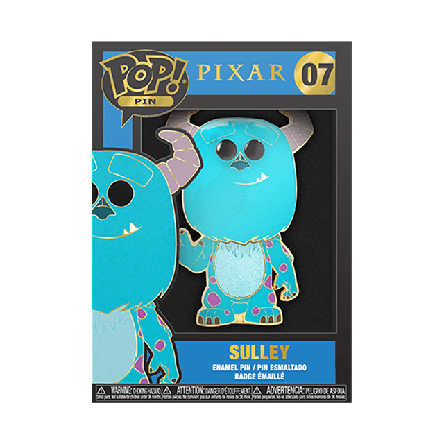 Sulley: Monsters Inc Funko Pop Pin - 2