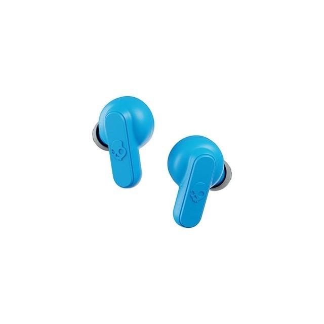 Skullcandy Dime Light Grey/Blue True Wireless Bluetooth Earphones - 2