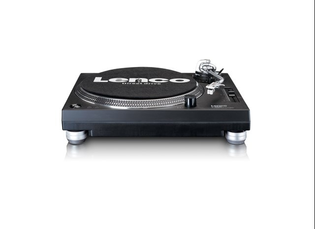 Lenco LS-3809 Black Direct Drive Turntable - 4