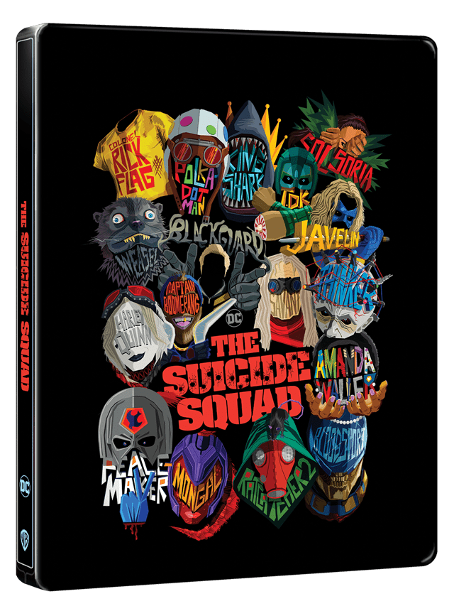 The Suicide Squad (hmv Exclusive) Limited Edition 4K Ultra HD Steelbook - 1