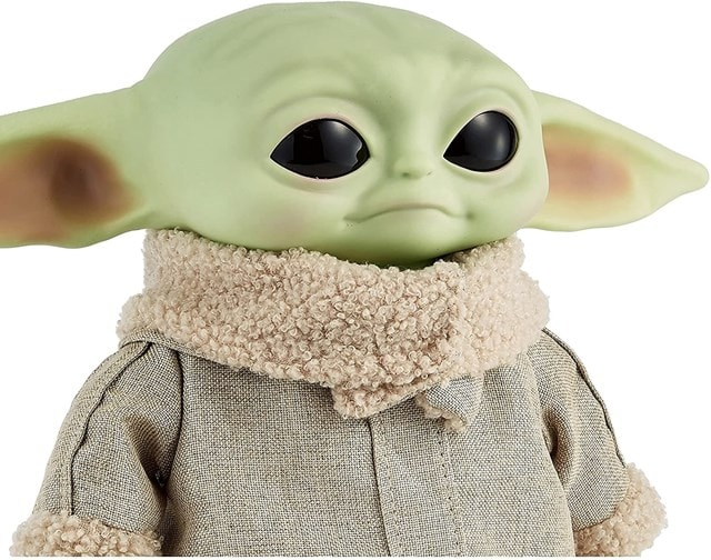 The Child, Grogu (Baby Yoda) Real Moves: Mandalorian: Star Wars Interactive Plush - 4