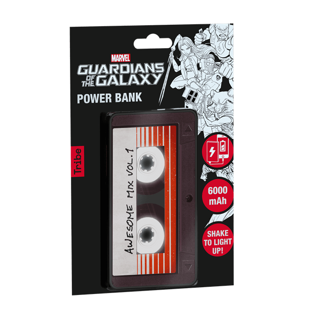 Tribe Guardians Of The Galaxy Awesome Mix Light Up 6000mAh Power Bank (hmv Exclusive) - 1