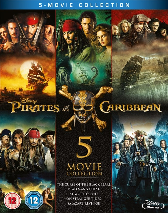 Pirates of the Caribbean: 5-movie Collection - 1