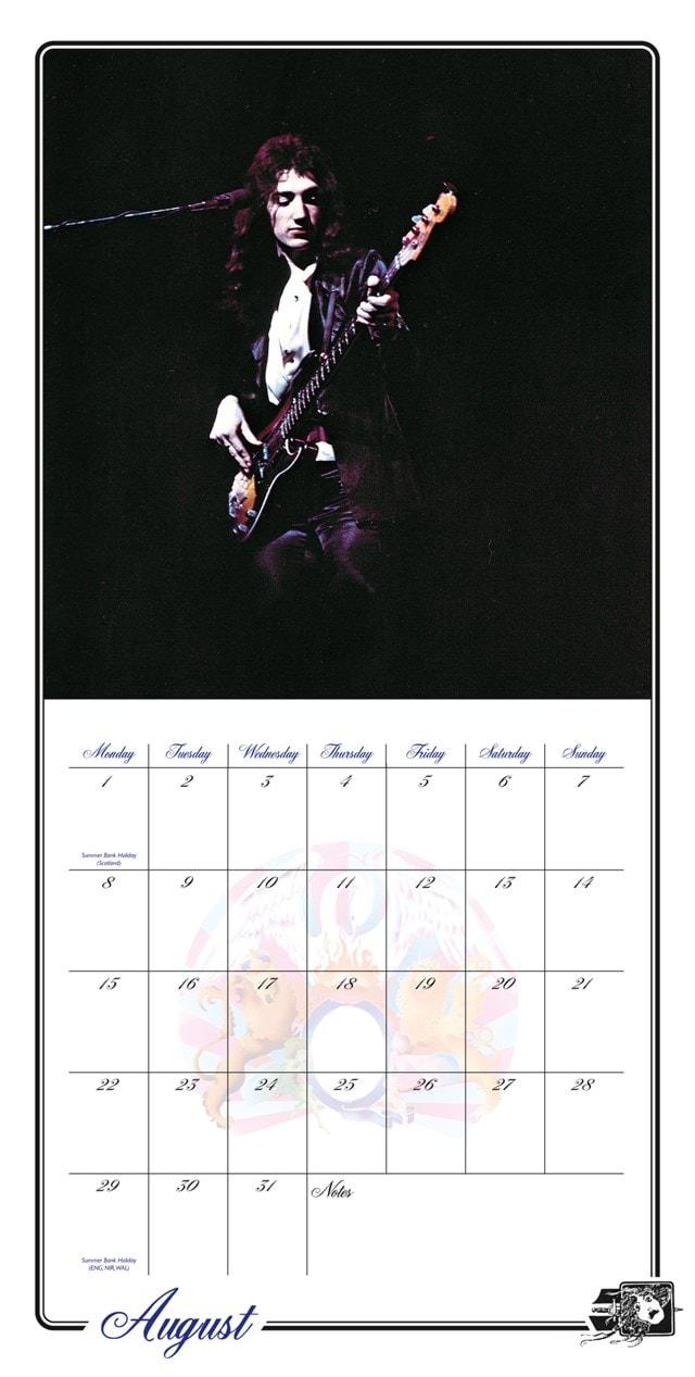 Queen Collectors Edition Record Sleeve 2022 Calendar - 2