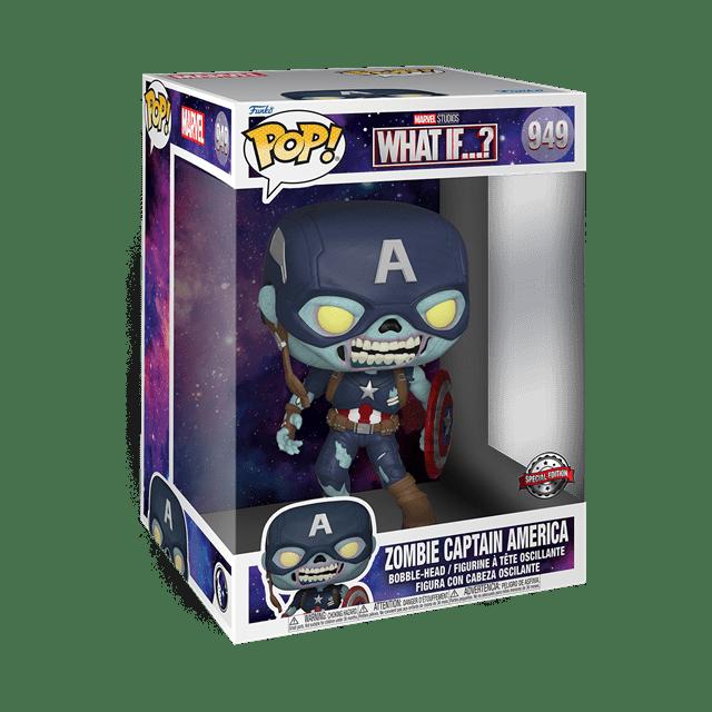 10'' Zombie Captain America (949) What If hmv Exclusive Pop Vinyl - 2