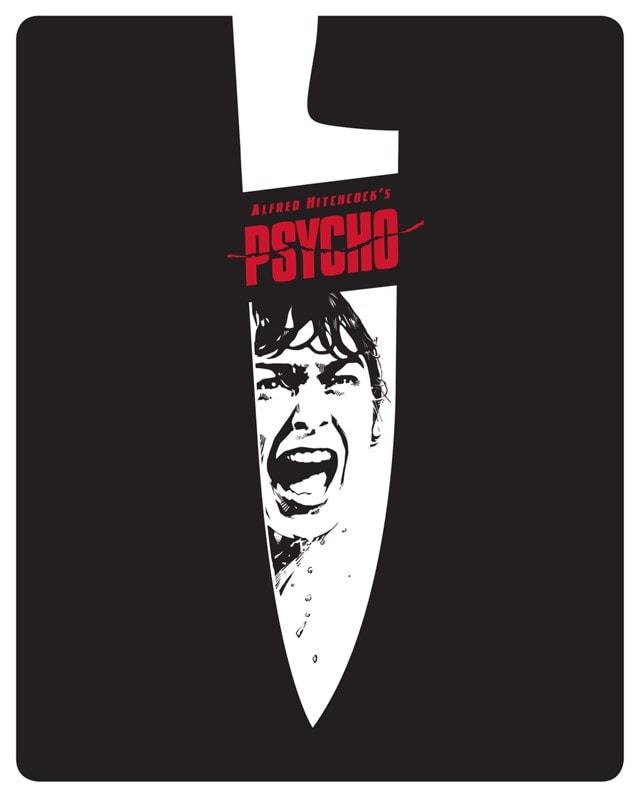 Psycho 60th Anniversary Limited Edition 4K Ultra HD Steelbook - 1