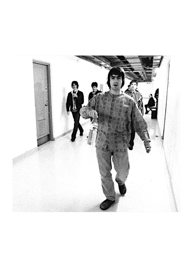 Oasis Backstage at Sheffield Arena Print (Size 50x70cm) - 1
