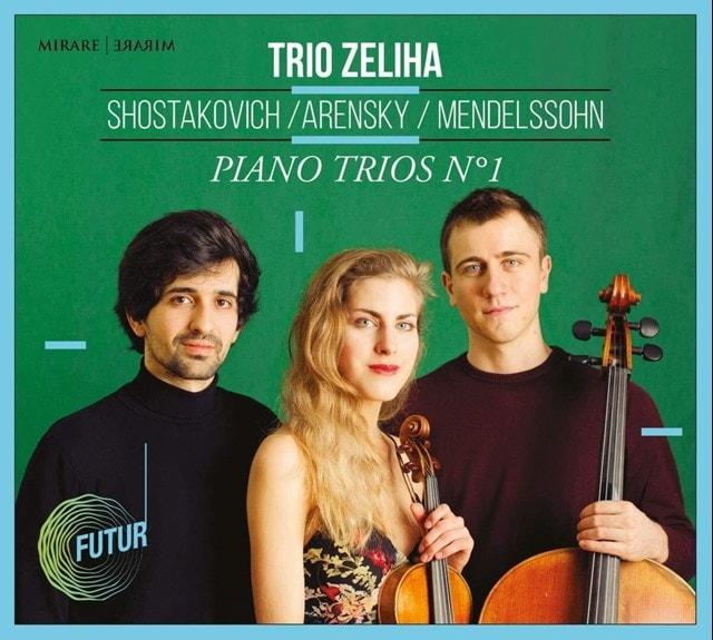 Shostakovich/Arensky/Mendelssohn: Piano Trios No. 1 - 1