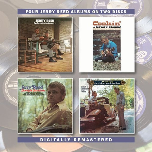 Explores Guitar Country/Cookin'/Georgia Sunshine/Me and Jerry: Four Jerry Reed Albums On Two Discs - 1