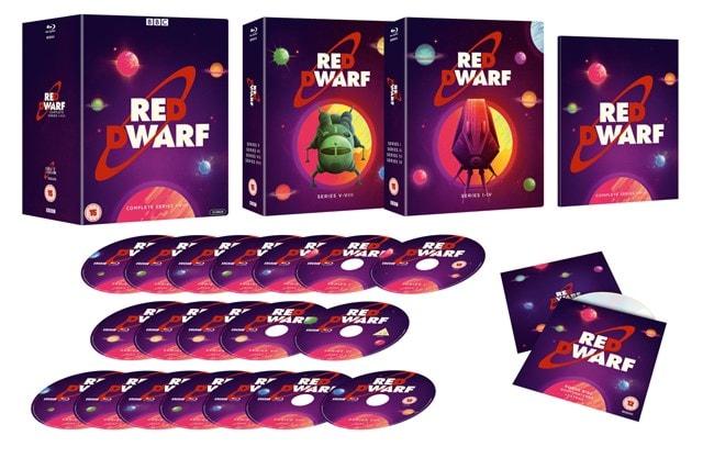 Red Dwarf: Complete Series I-VIII - 3