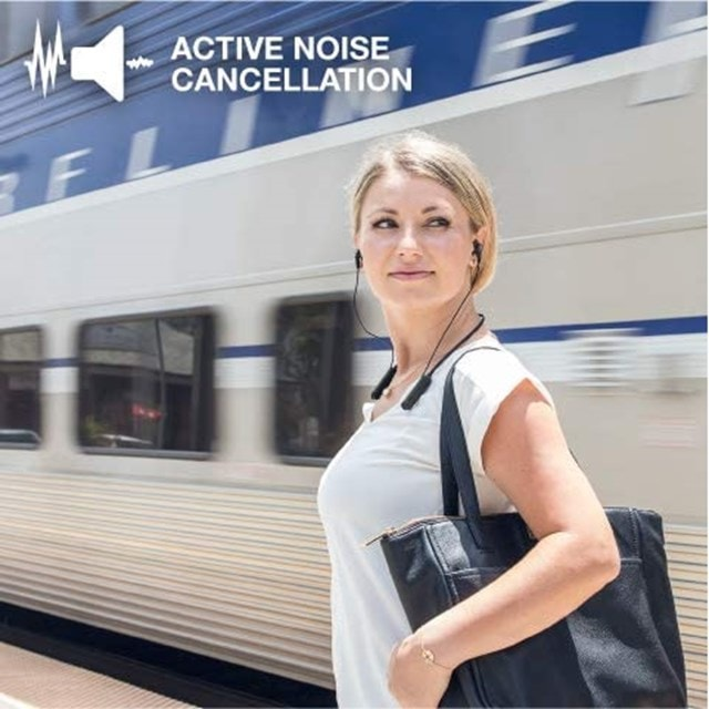 J-Lab Epic Executive Grey Active Noise Cancelling  Bluetooth Earphones - 5