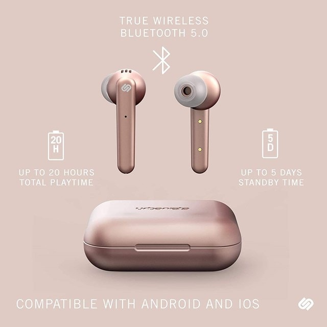 Urbanista Paris Rose Gold True Wireless Bluetooth Earphones - 4