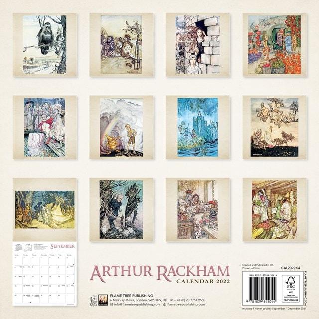 Arthur Rackham Square 2022 Calendar - 3
