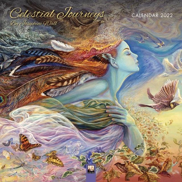 Celestial Journeys: Josephine Wall Square 2022 Calendar - 1