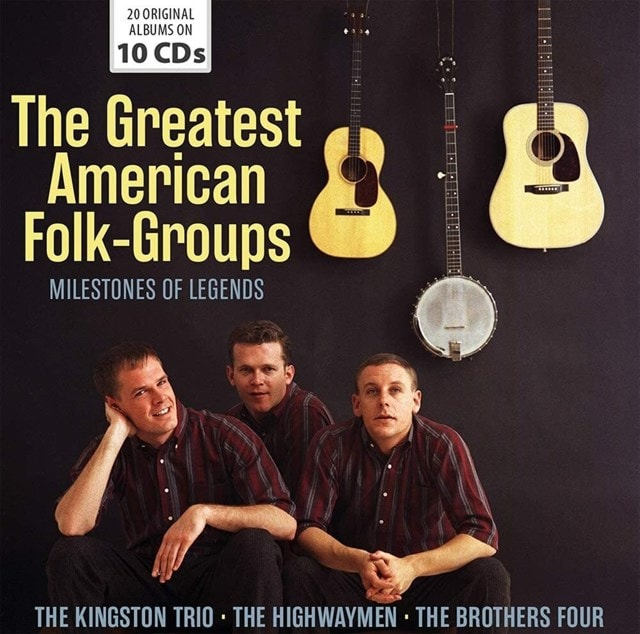 The Greatest American Folk-groups - 1