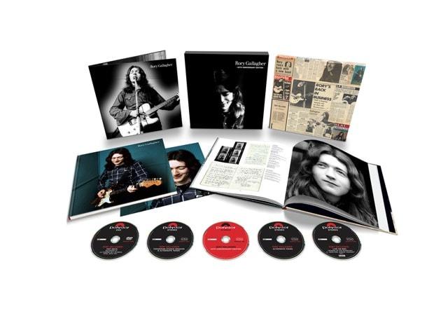 Rory Gallagher (50th Anniversary Edition) - 4CD + DVD Boxset - 1