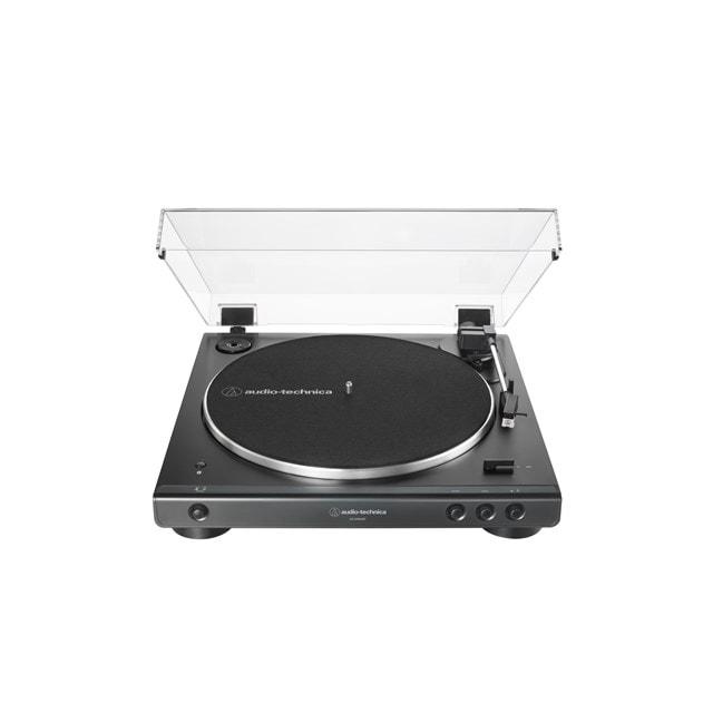 Audio Technica AT-LP60XBT Black Bluetooth Turntable - 1