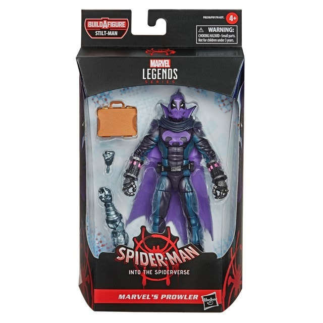 Prowler: Spider-Man: Into The Spider-Verse Marvel Legends Action Figure - 4