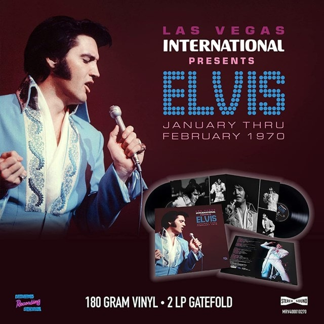 Las Vegas International Presents Elvis: January Thru February 1970 - 1