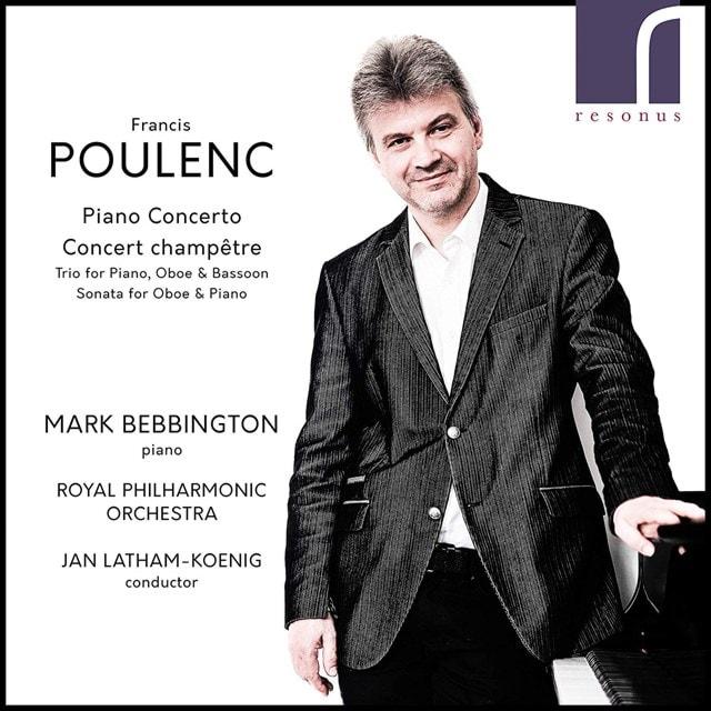 Francis Poulenc: Piano Concerto/Concert Champetre - 1