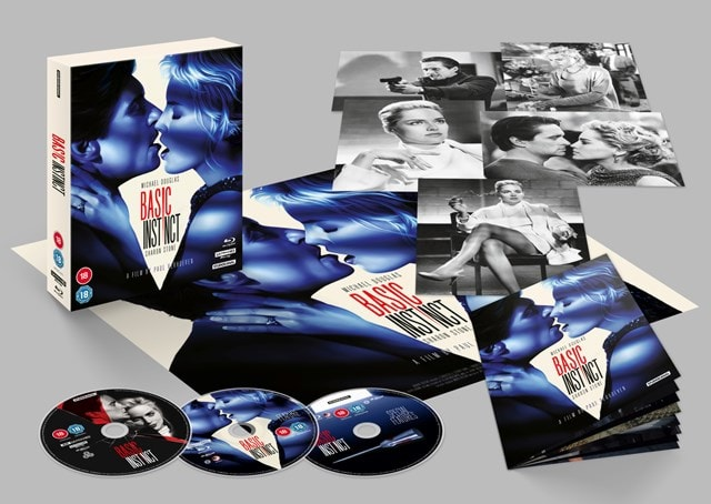 Basic Instinct 4K UHD Limited Collector's Edition - 1