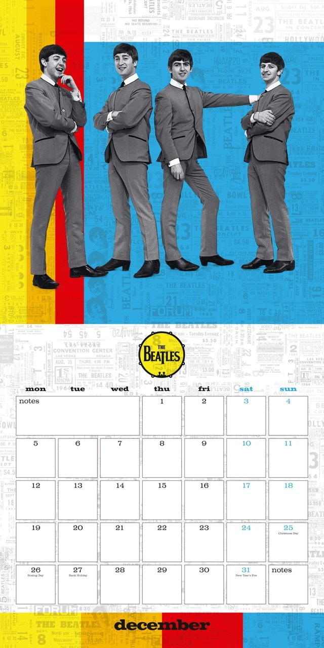 The Beatles Square 2022 Calendar - 5