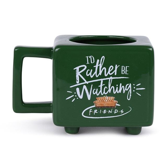 I'd Rather Be Watching Friends Heat Change Mug - 3