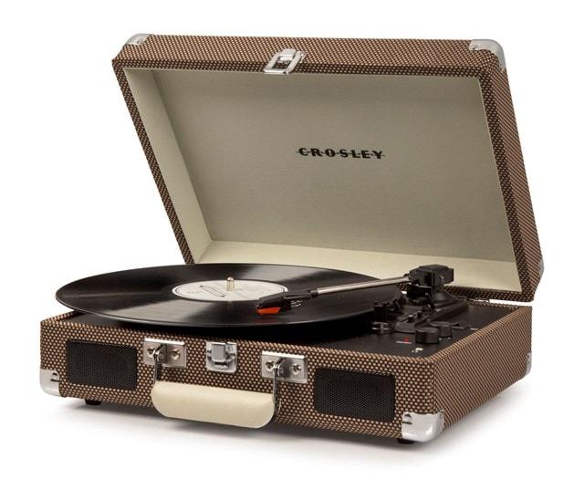 Crosley Cruiser Deluxe Tweed Turntable - 1