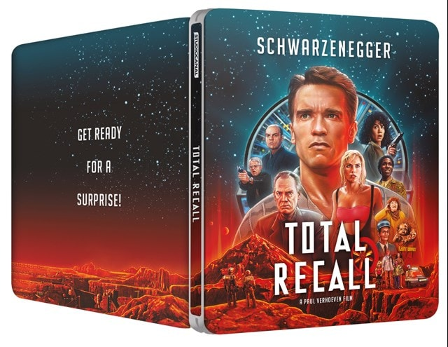 Total Recall 30th Anniversary 4K Ultra HD Limited Edition Steelbook - 2