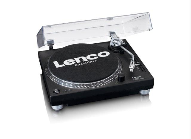 Lenco LS-3809 Black Direct Drive Turntable - 1