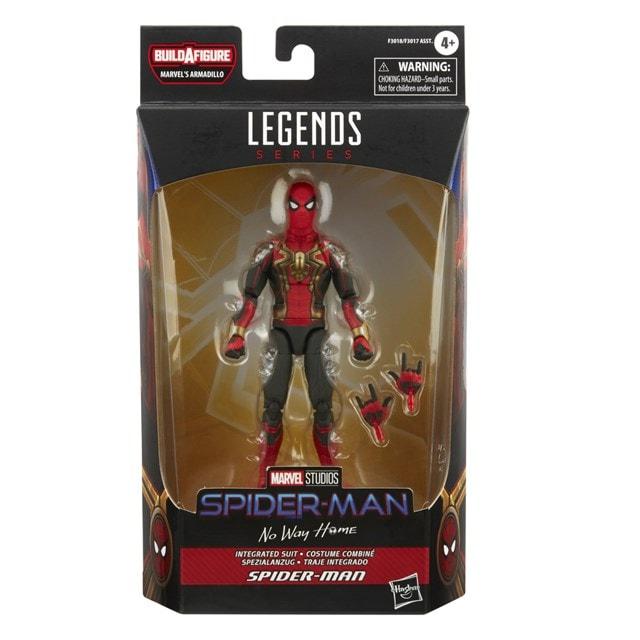 Integrated Suit Spider-Man: Spider-Man No Way Home: Marvel Legends Series Action Figure - 10
