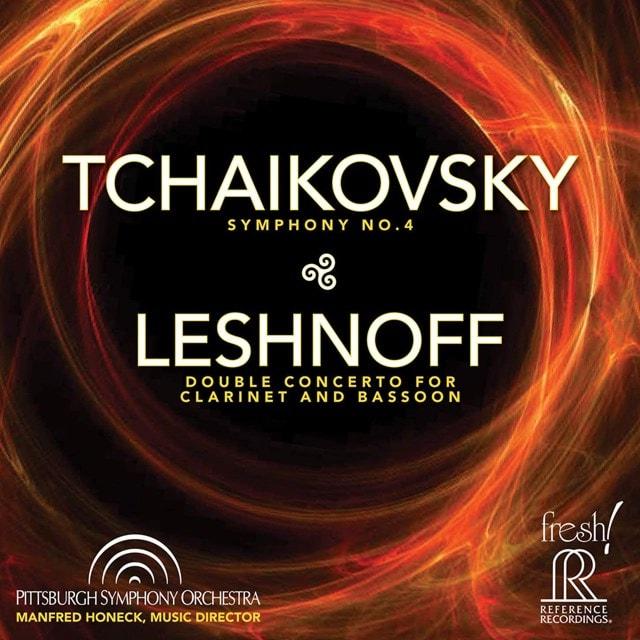 Tchaikovsky: Symphony No. 4/Leshnoff: Double Concerto... - 1