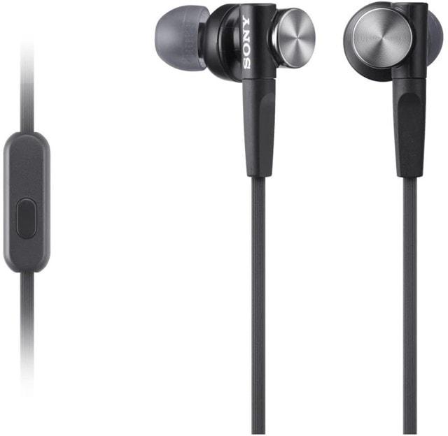 Sony XB50AP Black Extra Bass Earphones - 1