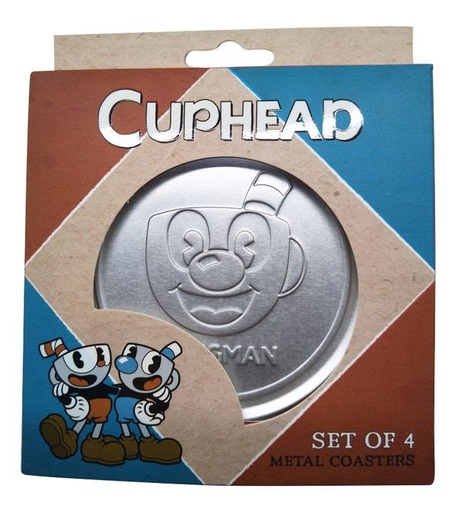 Cuphead: Metal Embossed Coaster Set - 2