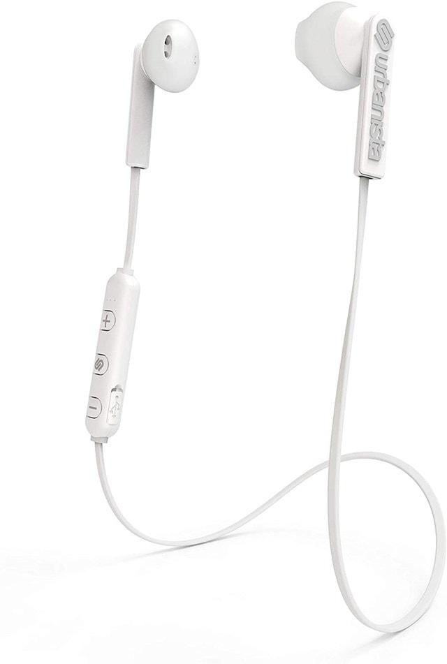 Urbanista Berlin Fluffy Cloud (White) Bluetooth Earphones - 1