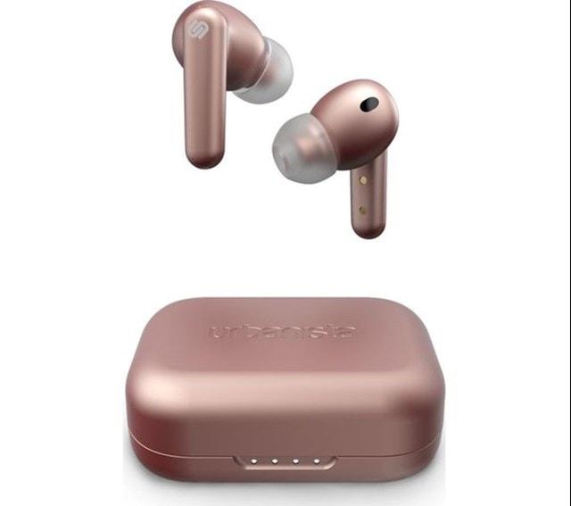 Urbanista London Rose Gold True Wireless Active Noise Cancelling Bluetooth Earphones - 1