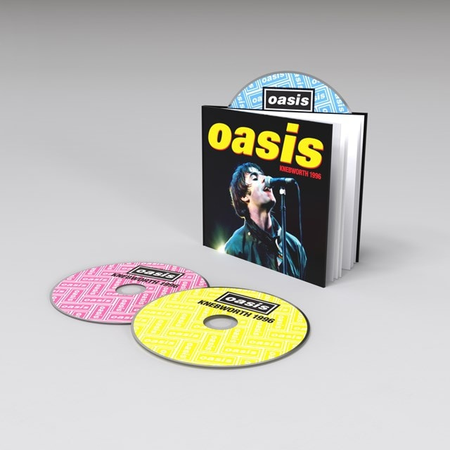 Knebworth 1996 - Deluxe Edition 2CD+DVD - 1