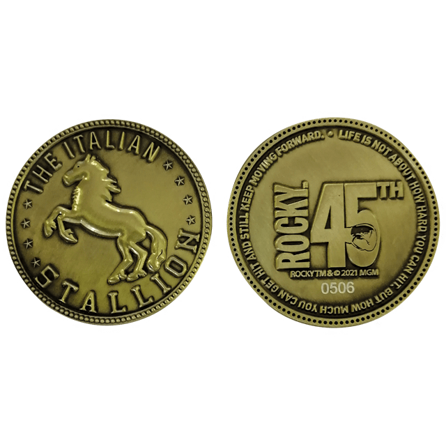 Rocky 45th Anniversary Limited Edition Coin - 3