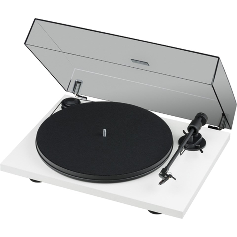 Pro-Ject Primary E Phono White Turntable and Jamo DS4 Speakers - 2