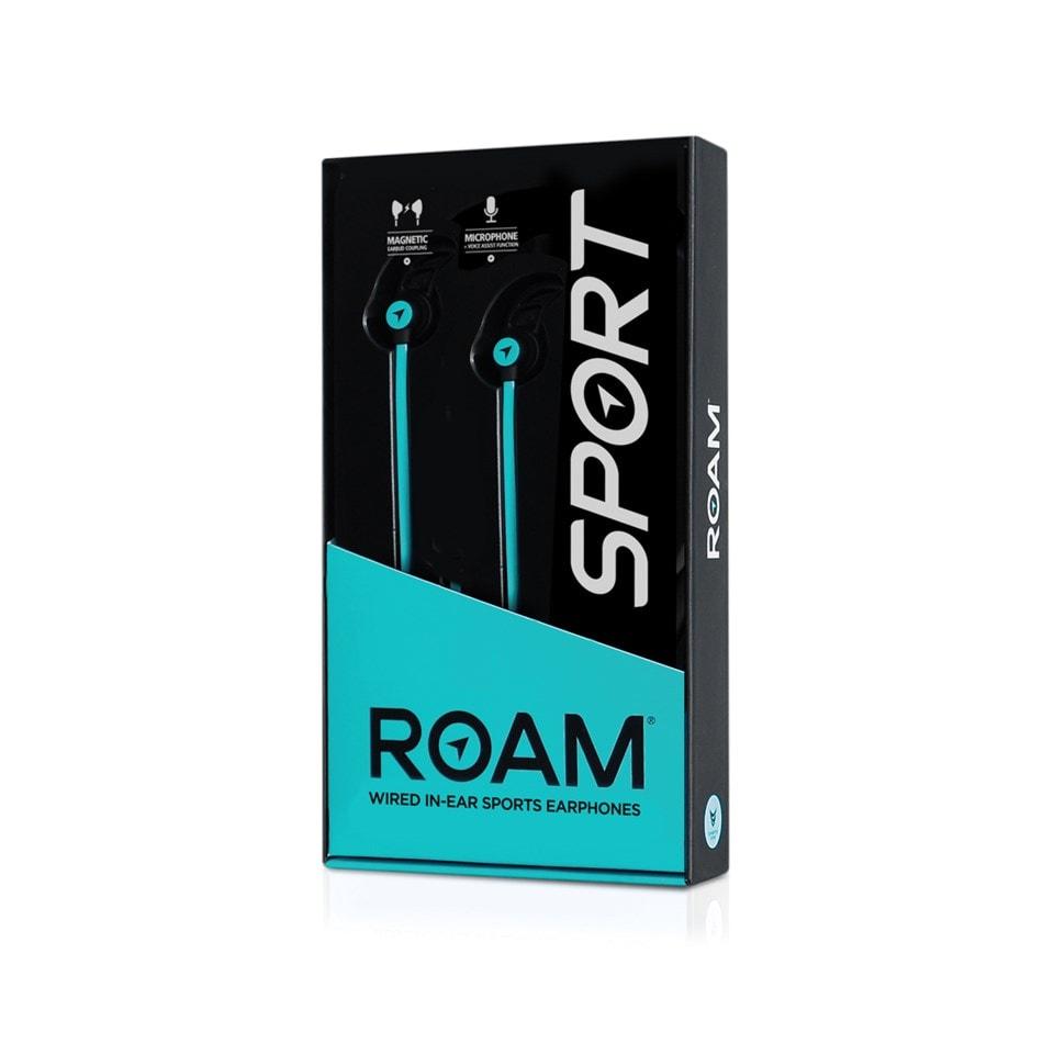 Roam Sports Pro Teal Earphones - 2