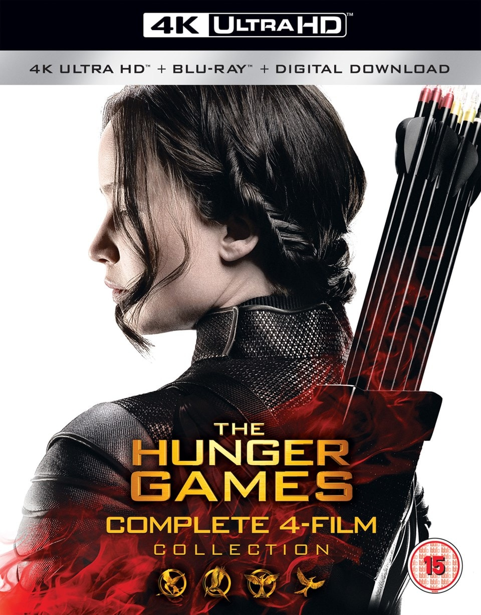 The Hunger Games: Complete 4-film Collection - 1