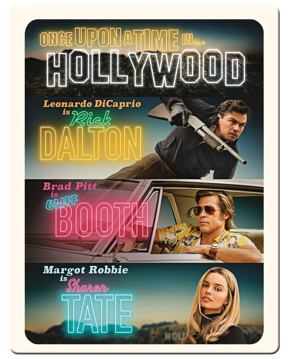 Once Upon a Time In... Hollywood (hmv Exclusive) 4K Ultra HD Steelbook - 1