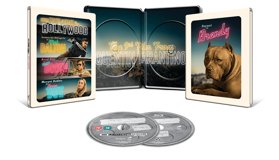 Once Upon a Time In... Hollywood (hmv Exclusive) 4K Ultra HD Steelbook - 3