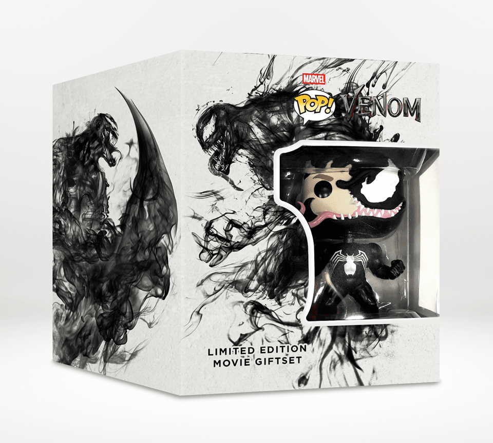 Venom (hmv Exclusive) Limited Edition 4K Ultra HD Steelbook and Pop! Vinyl Box Set - 2