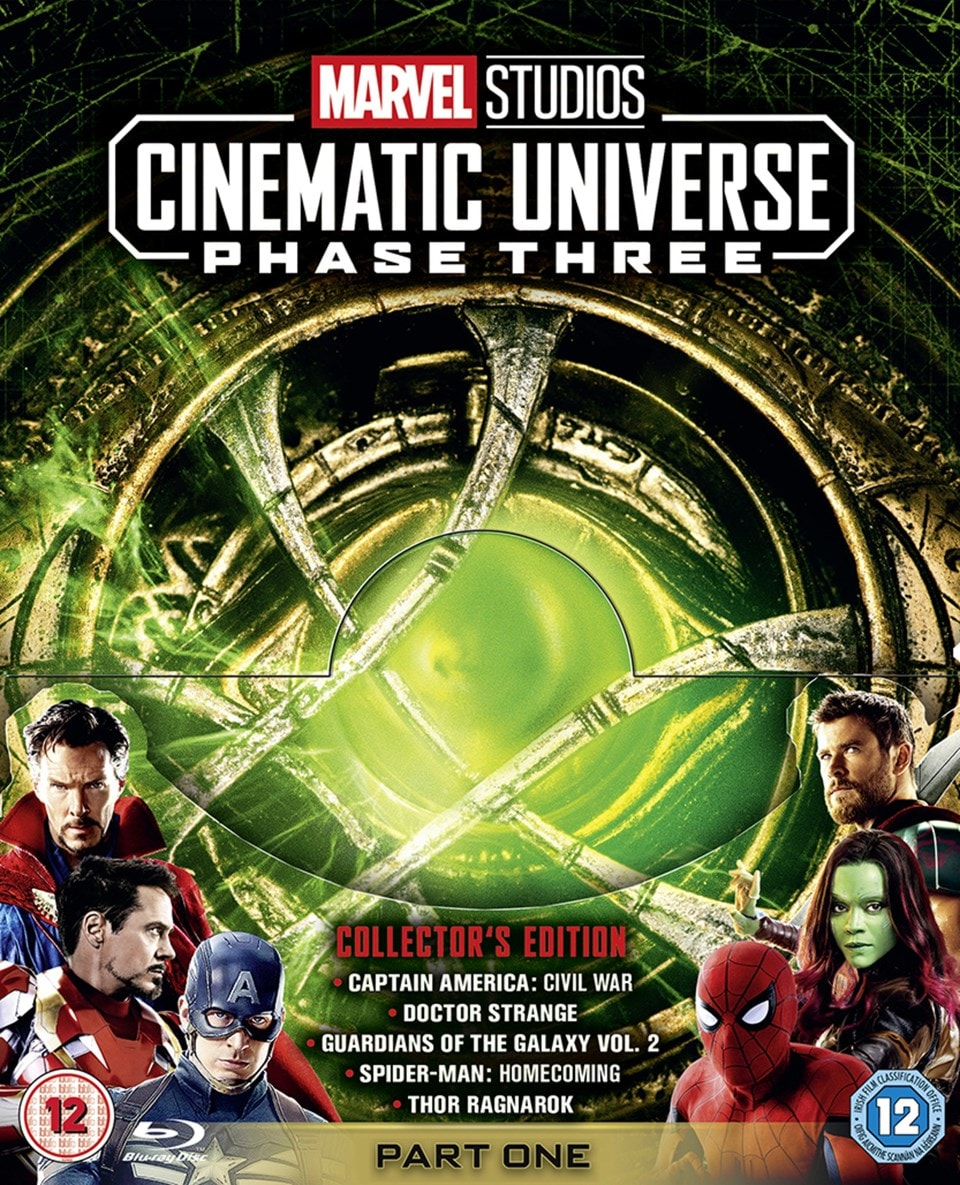 Marvel Studios Cinematic Universe: Phase Three - Part One - 1