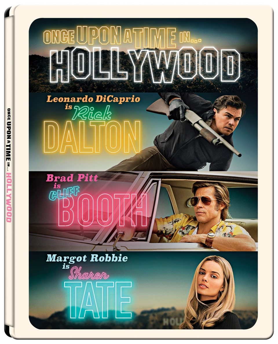 Once Upon a Time In... Hollywood (hmv Exclusive) 4K Ultra HD Steelbook - 2