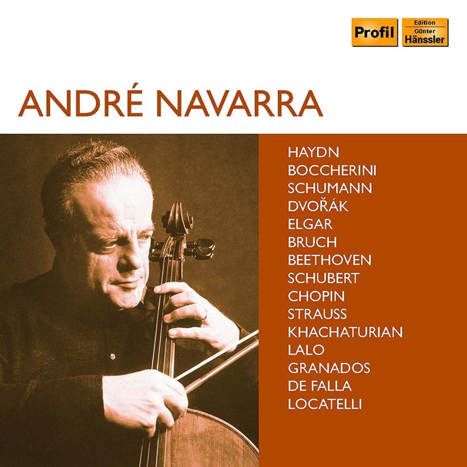 Andre Navarra: Haydn/Boccherini/Schumann/Dvoak/Elgar/... - 1