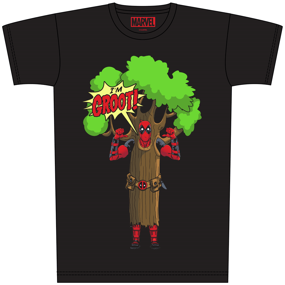 Deadpool: I Am Groot (Small) - 1