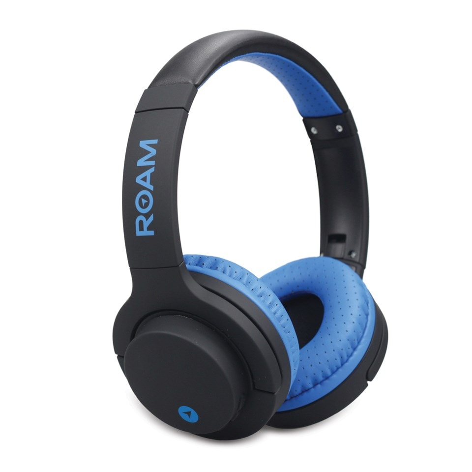 Roam Sports Pro Blue Bluetooth Headphones - 1